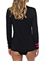 Roxy Women's Enjoy Waves Long Sleeve Rash Guard - Anthracite