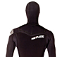 Hotline Reflex 2.0 Hooded 5/4 Chest Zip Wetsuit