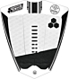 Channel Islands 3 Piece Mixed Groove Traction - White/Black