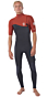 Rip Curl E-Bomb S/S 2mm Zip Free Wetsuit  - Front