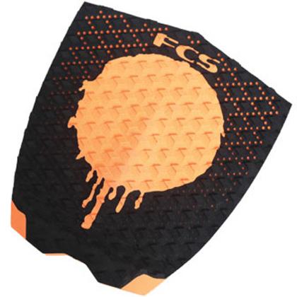 FCS Gabriel Medina Traction - Black/Orange