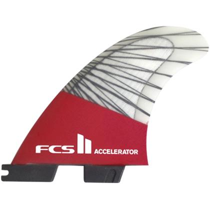 FCS II Fins Accelerator PC Carbon Small Tri Fin Set