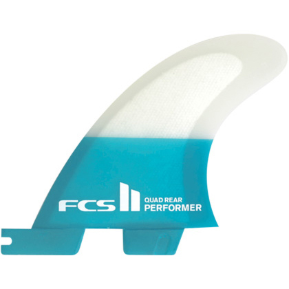 FCS II Fins Performer PC Medium Quad Rears Fin Set