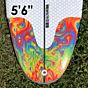 Lost Freak Flag Bean Bag 5'6 x 21.5 x 2.5 Surfboard - Tail