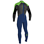 O'Neill Youth Epic 4/3 Back Zip Wetsuit - O'Neill Youth Epic 4/3 Back Zip Wetsuit - Navy/Black/DayGlo