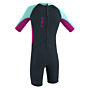O'Neill Toddler Reactor II 2mm Spring Wetsuit - Slate/Berry/Seaglass