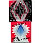 Surfco Hawaii Diamond Tip Shortboard Nose Guard - Blue