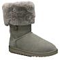 UGG Australia Bailey Button Triplet Boots - Grey