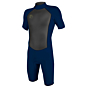 O'Neill O'Riginal 2mm Short Sleeve Back Zip Spring Wetsuit - Abyss
