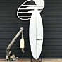 Pyzel Ghost 6'4 x 20 x 2.88 Used Surfboard - Bottom