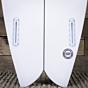 Channel Islands FishBeard 5'10 x 19 7/8 x 2 9/16 Surfboard - Fins