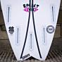 Channel Islands Rocket Wide Spine-Tek 5'9 x 19 3/4 x 2 9/16 Surfboard - Fins