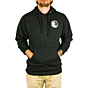 Cleanline Silhouette Circle Hoody - Black
