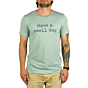 Cleanline Swell Day T-Shirt - Heather Dusty Blue