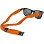 Croakie Cotton Suiter Eyewear Retainer - Orange