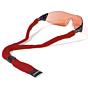 Croakie Cotton Suiter Eyewear Retainer - Red