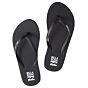 Billabong Women's Dama Sandals - Black/White - Both