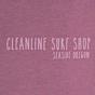 Cleanline Women's Pine Stamp Seaside Muscle Tank - Shiraz