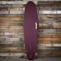 Torq Mini Longboard 8'0 x 22 x 3 Surfboard - Burgundy/White - Bottom