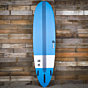 Torq TEC M2 XL 7'6 x 21 1/2 x 2 3/4 Surfboard - Blue/White - Bottom