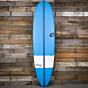 Torq TEC M2 XL 7'6 x 21 1/2 x 2 3/4 Surfboard - Blue/White - Deck