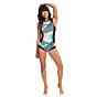 Roxy Women's Pop Surf 1mm Bikini Cut Short John Back Zip Spring Wetsuit