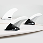 FCS II Fins DHD PC Large Tri Quad Fin Set