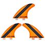 FCS Fins - ARC PC - Orange Hex
