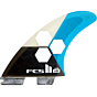 FCS II Fins AM PC Large Tri Fin Set