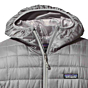 Patagonia Women's Nano Puff Hoodie Jacket - Feather Grey