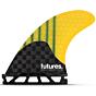 Futures Fins F4 Generation Tri-Quad Fin Set
