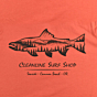 Cleanline Salmon T-Shirt - Rust