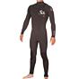 Hotline Reflex 2.0 4/3 Chest Zip Wetsuit - Black