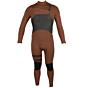 Hurley Advantage Plus 4/3 Chest Zip Wetsuit - Pueblo Brown