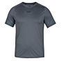 Hurley Quick Dry Tee Short Sleeve Rash Guard - Cool Grey