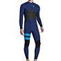 Hurley Advantage Plus 4/3 Chest Zip Wetsuit - Loyal Blue