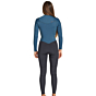 Billabong Women's Furnace Synergy 4/3 Chest Zip Wetsuit - Black Marine