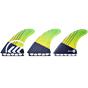 Kinetik Racing Fins Parko Phase 4 XS/S Futures - Yellow/Green