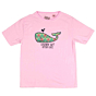 Cleanline Youth Lil' Whale T-Shirt - Blush