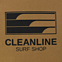 Cleanline Lines Hoody - Saddle