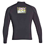 Billabong Revolution Reissue 2mm Long Sleeve Jacket - Black Sands