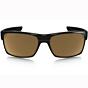 Oakley Twoface Sunglasses - Polished Black/Dark Bronze