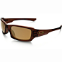 Oakley Fives Squared Polarized Sunglasses - Polished Rootbeer/Bronze