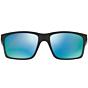 Oakley Mainlink Polarized Sunglasses - Polished Black/Prizm Deep Water