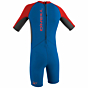 O'Neill Toddler Reactor II 2mm Spring Wetsuit - Ocean/Graphite/Red