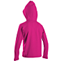 O'Neill Toddler Skins Hooded Long Sleeve Rash Tee - Berry