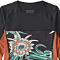Patagonia Wetsuits Women's Micro Swell Long Sleeve Rash Guard - Cereus Flower/Black