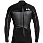 Quiksilver Syncro Plus 3/2 Back Zip Wetsuit- Black