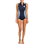 Rip Curl Women's G-Bomb 1mm Cap Sleeve Spring Wetsuit - Blue/White