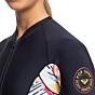 Roxy Women's POP Surf 1.5mm Long Sleeve Front Zip Spring Wetsuit